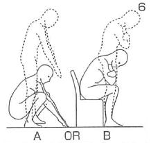 Williams(ウィリアムズ)の腰痛体操6