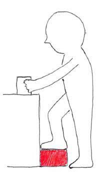 腰痛 台を使う