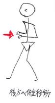 歩行肢位3