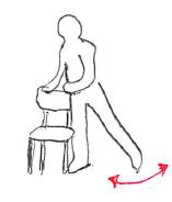 高齢者の股関節外転筋力増強
