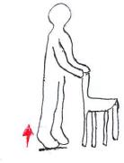 高齢者の下腿三頭筋筋力増強