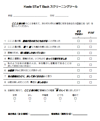 KeelのStarTスクリーニングツール(StarT Back test)