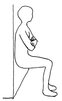 大腿四頭筋 空気椅子