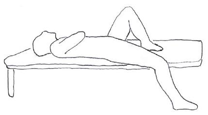 腸腰筋 セルフストレッチ