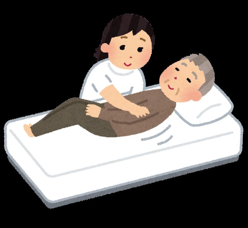褥瘡(床ずれ)の予防と管理(廃用症候群シリーズ)ー『背抜き』も紹介するよ