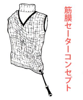 筋膜セーターコンセプト